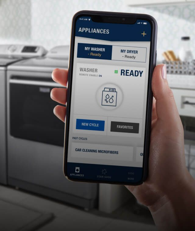 Download the Maytag™ App and create an account.