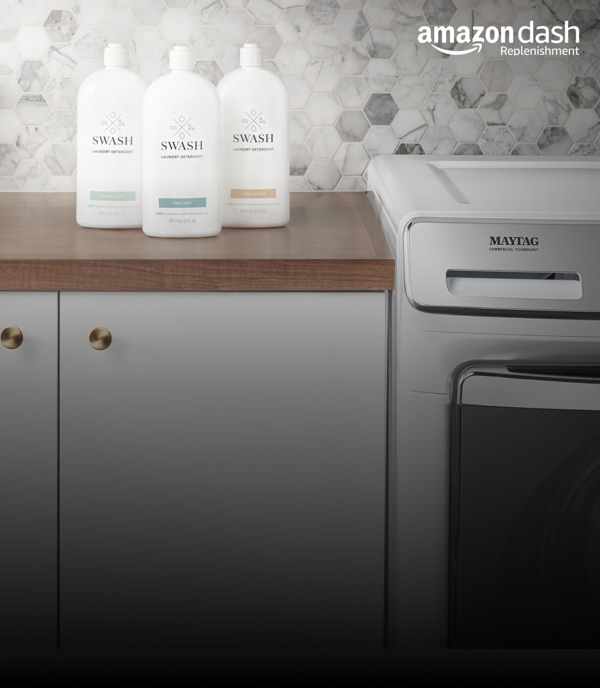 Smart Reordering for detergent and dryer sheets.