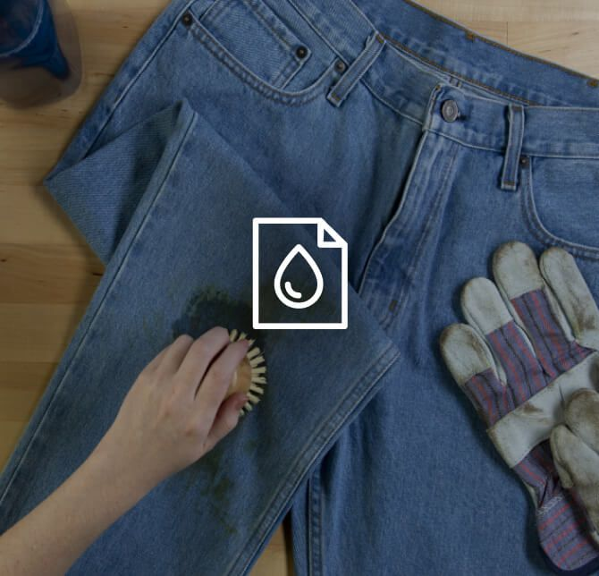 Stain Guide for tough laundry loads.