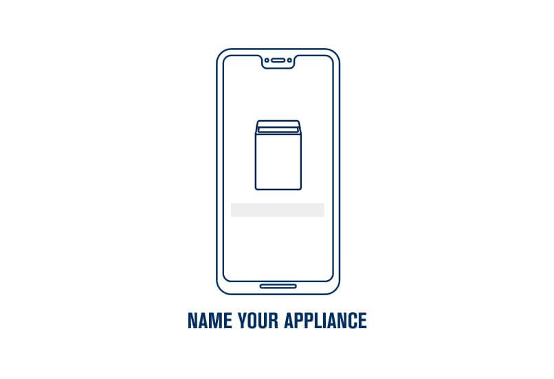 Step 10. Name your appliance.