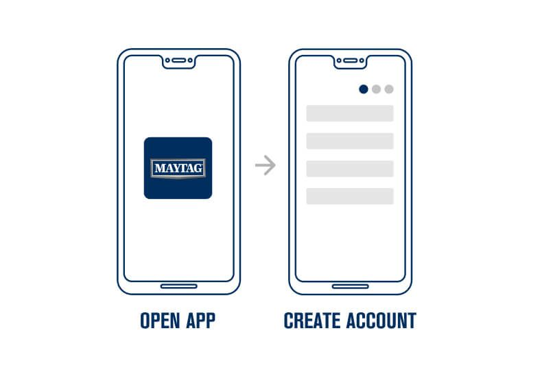 Step 2. Download the Maytag™ App.