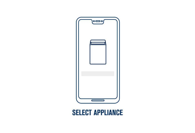 Step 5. Select the appliance you want to connect.