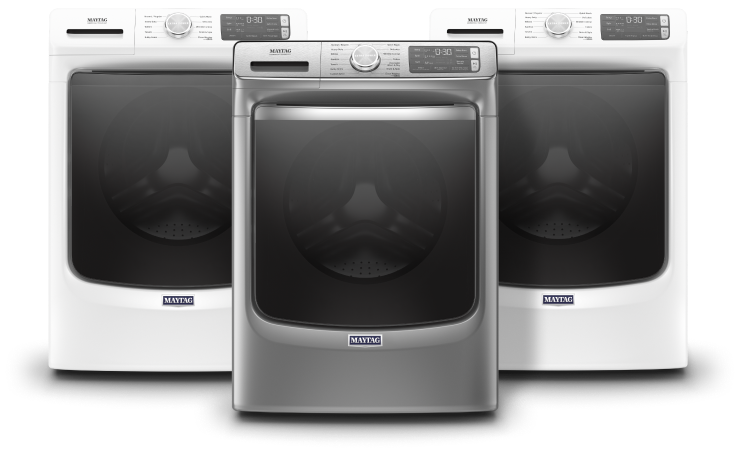 Consumer Reports recommends all 3 front load washers