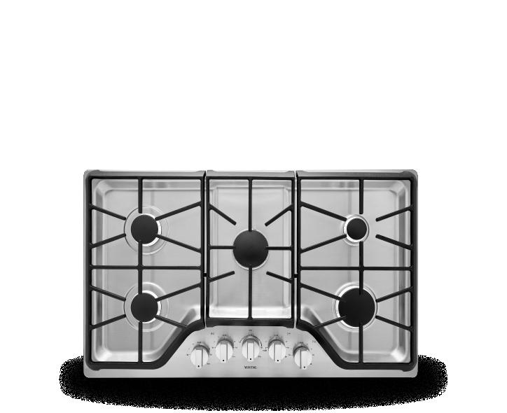 Maytag® gas cooktop.