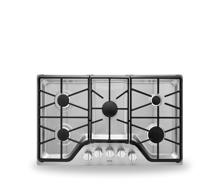 Maytag® gas cooktop.