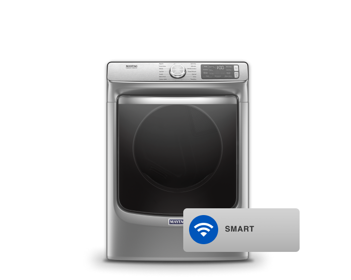 Maytag® front load dryer.