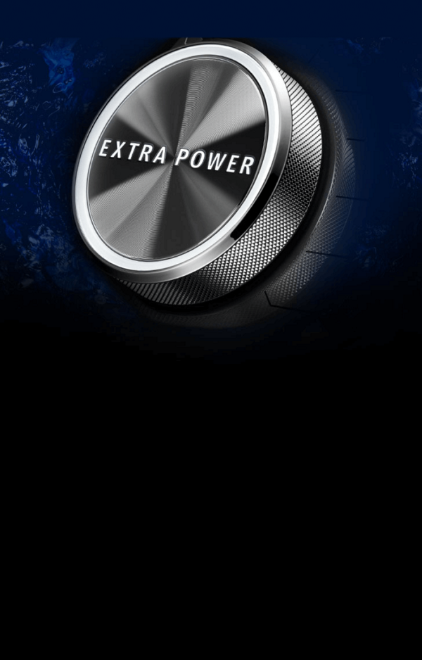 Maytag® top load washer console.
