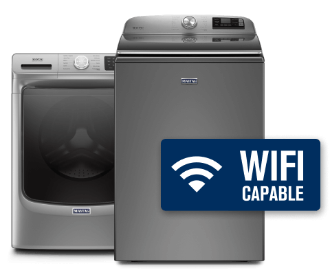 Top load and front load washing machines