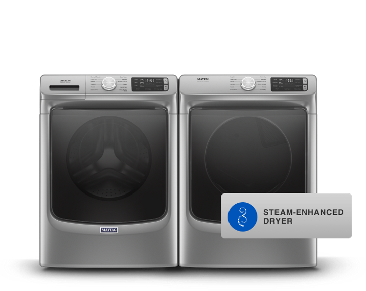 Maytag® front load laundry pair.