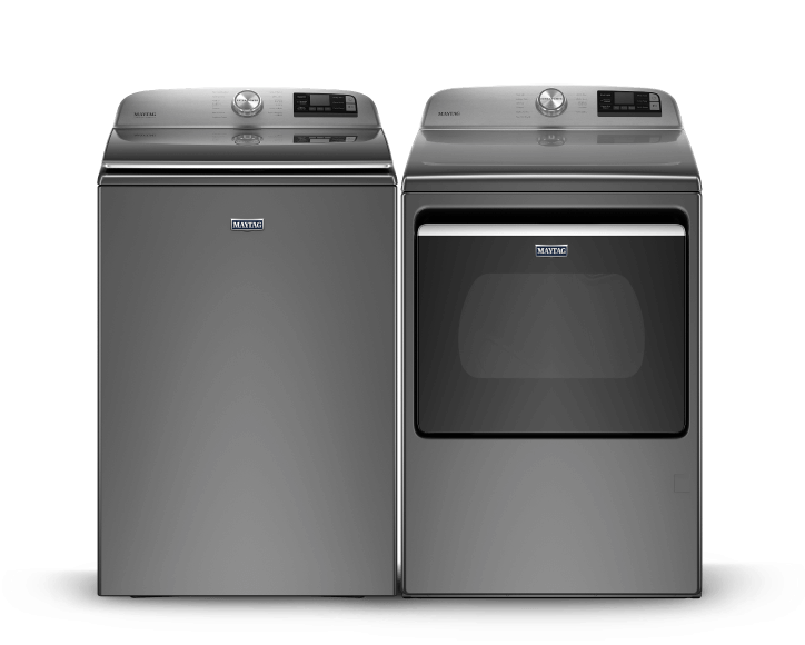 Maytag® top load laundry pair.
