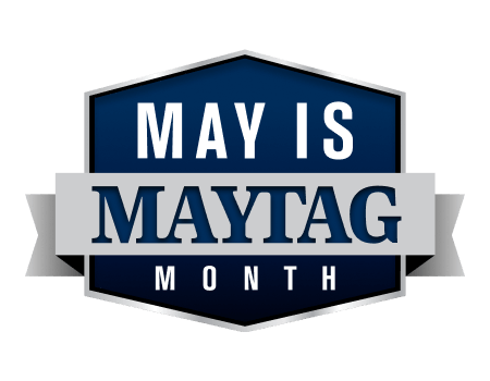 May is Maytag Month icon