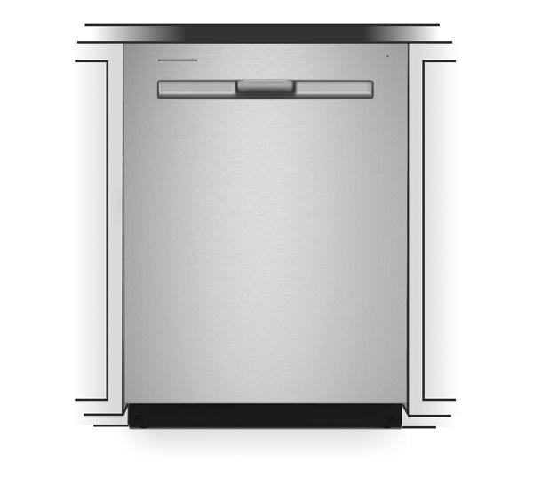 Standard dishwasher dimensions