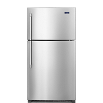 33-Inch Wide Top Freezer Refrigerator – 21 cu. ft.