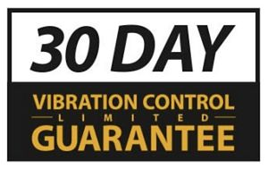 30 day vibration control limited guarantee