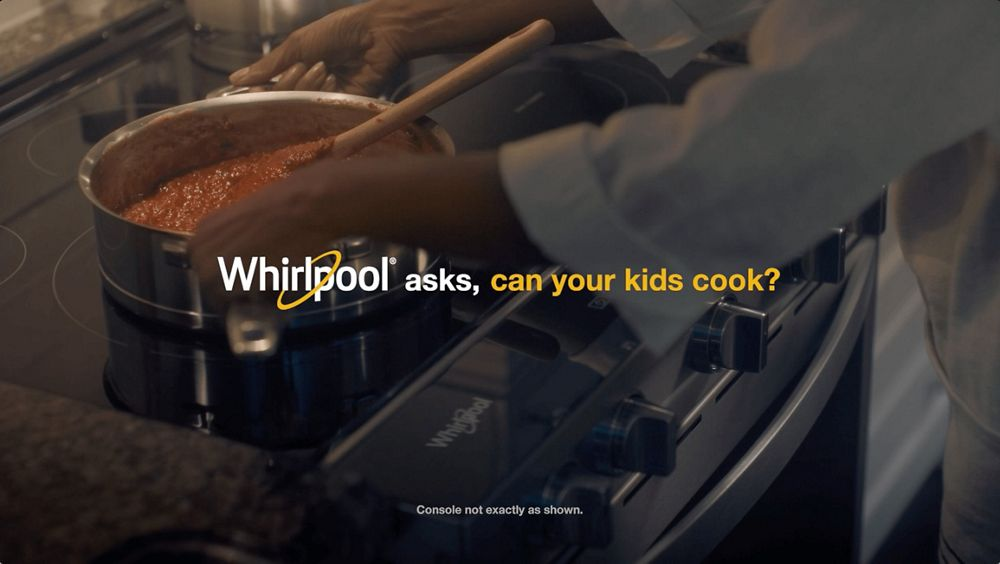 Whirlpool asks, can your kids cook?