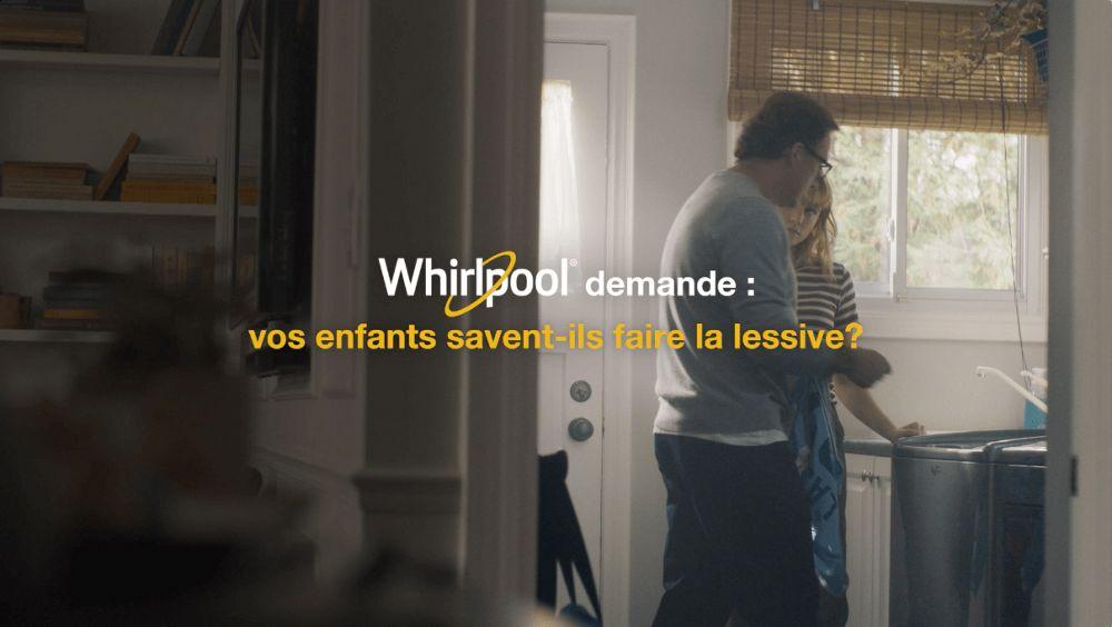 Whirlpool demande: vos enfants savent-ils faire le lessive