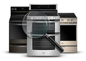Ranges Appliance Finder.