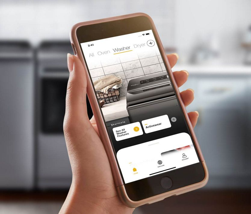 Connected appliances can give you updates while you're on the go.
