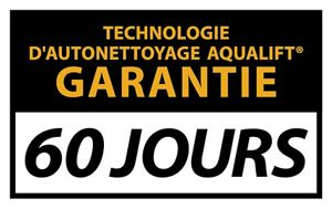 Aqualift self-cleaning technology limited guarantee