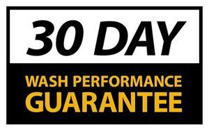 30 Day Wash Performance Guarantee
