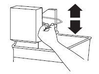 Pour éteindre manuellement la machine à glaçons