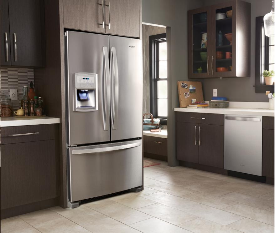 Popular Counter Depth Refrigerator Measurements Whirlpool