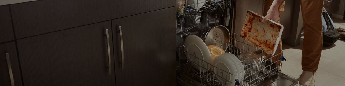 How to fix a clogged dishwasher.