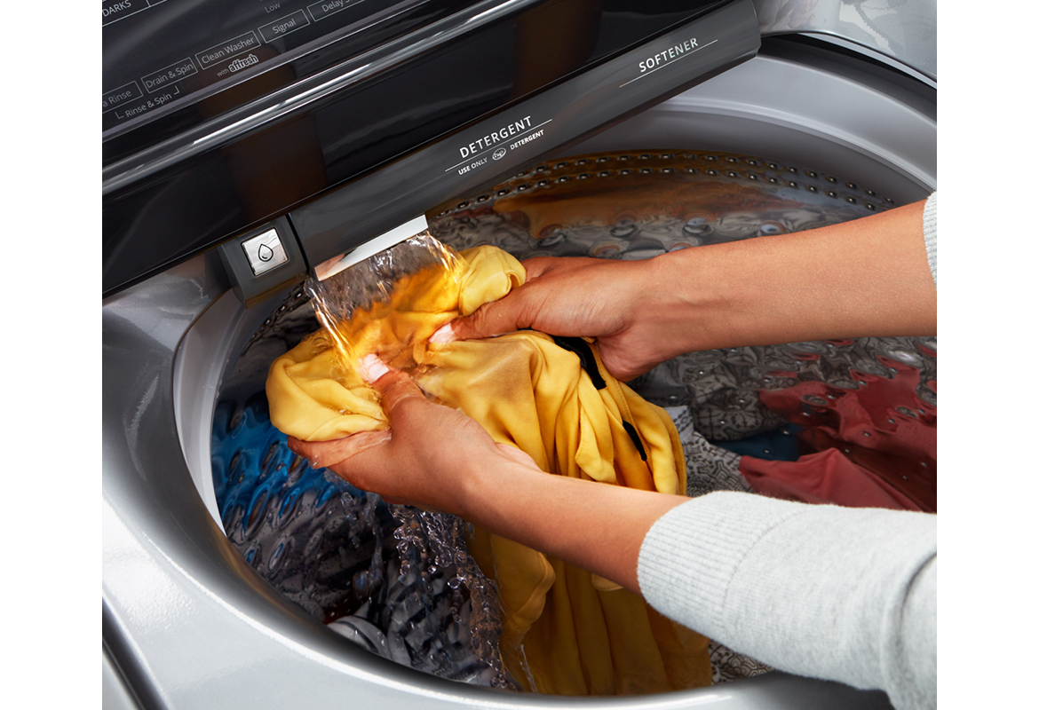 Why you should use HE detergent with a high-efficiency washer.