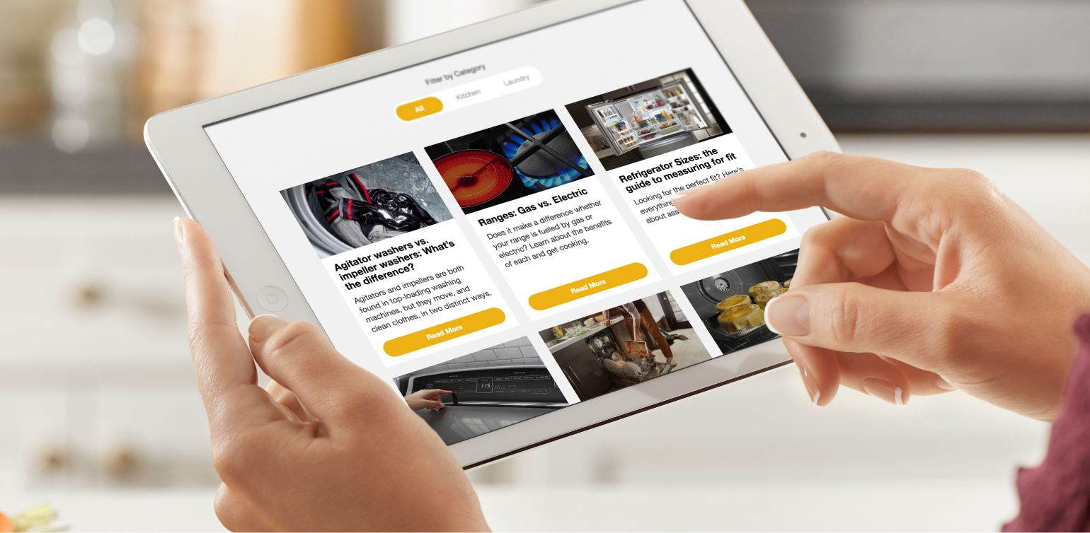 Get more tips, info and inspiration at Appliance IQ
