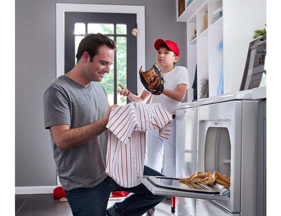 Advanced Moisture Sensing prevents overdrying clothes