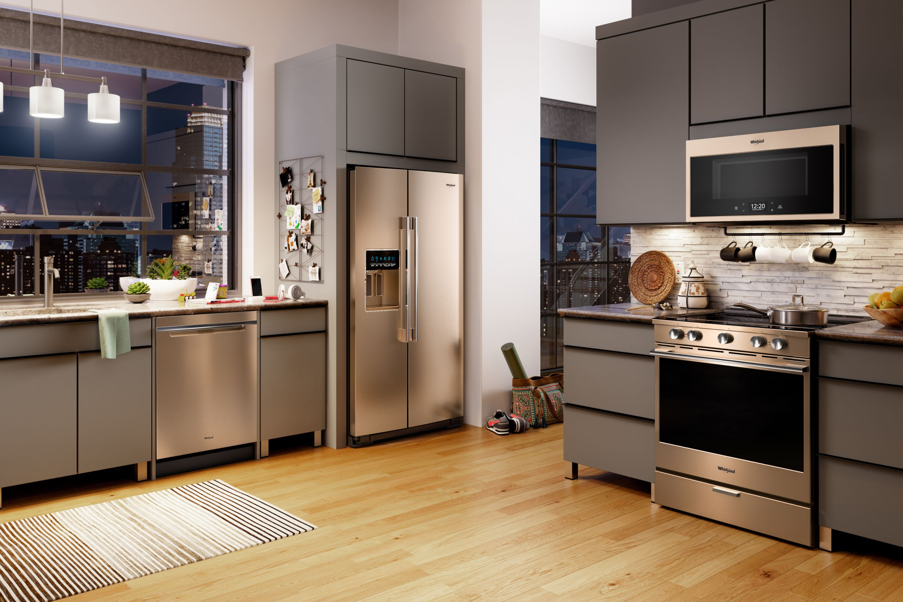 Find Your Kitchen Style with our Design Tool   Whirlpool Kitchen Ideas White With Dark Countertops Html on white cabinets with countertops, white kitchen with black appliances, white kitchen dark granite, white kitchens with dark trim, white kitchens with dark blinds, white kitchen dark wood floors, white kitchen soapstone countertops, white cabinets dark countertops, white kitchen countertop choices, white kitchens with dark floors, white kitchen dark floor and countertops, white kitchens with dark islands, white kitchens with an island, white kitchen with wood countertops, white kitchens with dark wood, white cabinets with dark granite, white subway tile kitchen backsplash ideas, white kitchen flooring, white kitchen dark counters, white kitchens with dark windows,