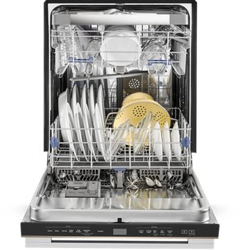 See what a new appliance finish on Whirlpool dishwashers can do for your design.