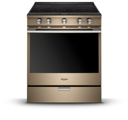 See what a new appliance finish on Whirlpool ranges can do for your design.