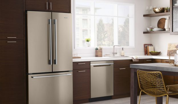 Discover new kitchen appliance finishes from Whirlpool.