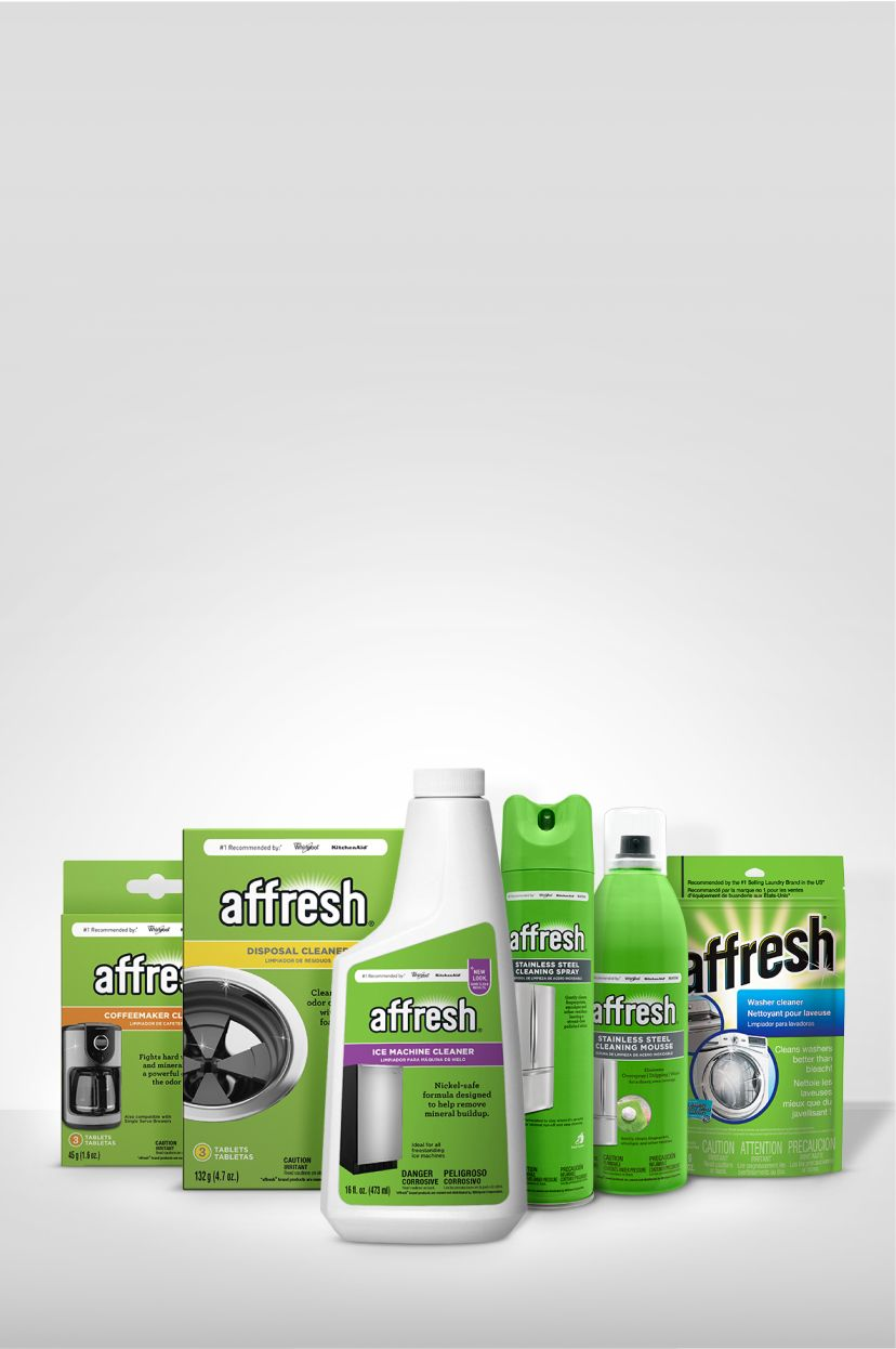 Affresh appliance cleaners.