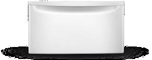 Whirlpool® laundry pedestals.