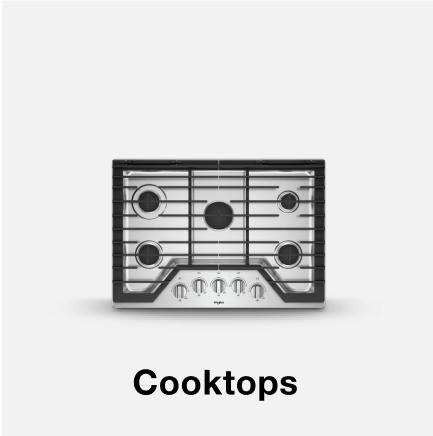Whirlpool® cooktop.