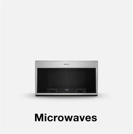 Whirlpool® microwave.