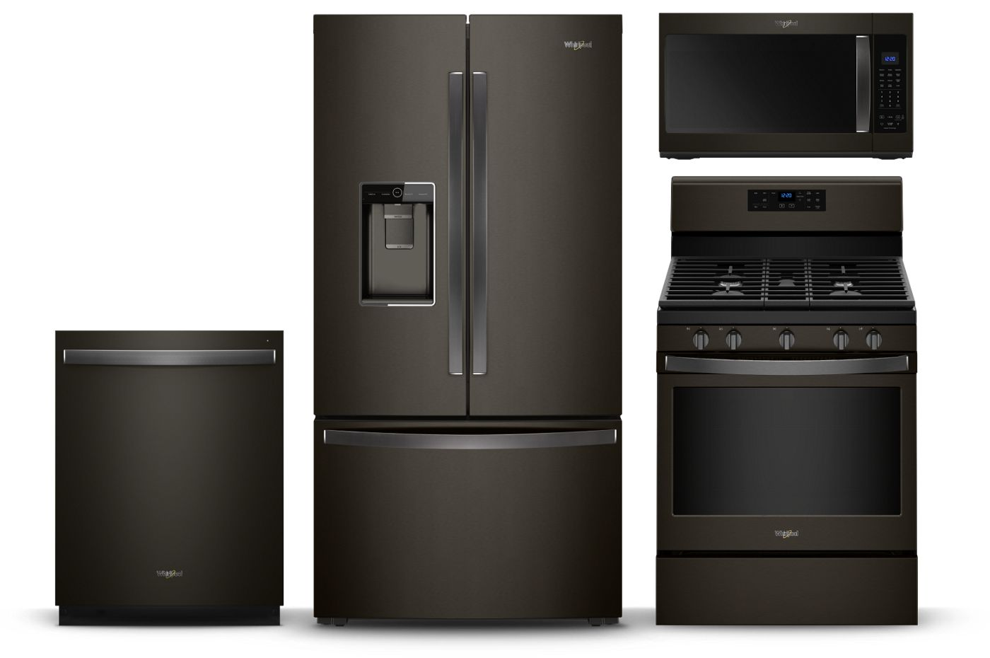 Fingerprint-Resistant Black Stainless Steel Appliances ...