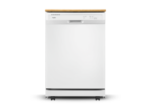 Combo stacked washer