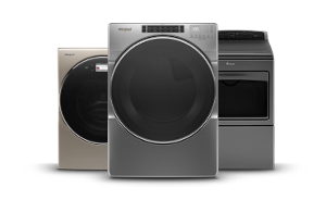 All dryers from Whirlpool.
