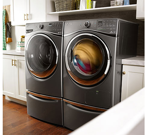 Take care of your clothes with low temperature in heat pump dryers.