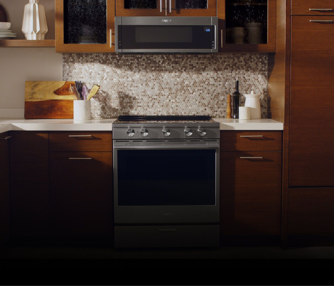 Over the range microwave venting options