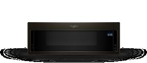 Four à micro-ondes à hotte intégrée à profil bas, 1,1 pi3