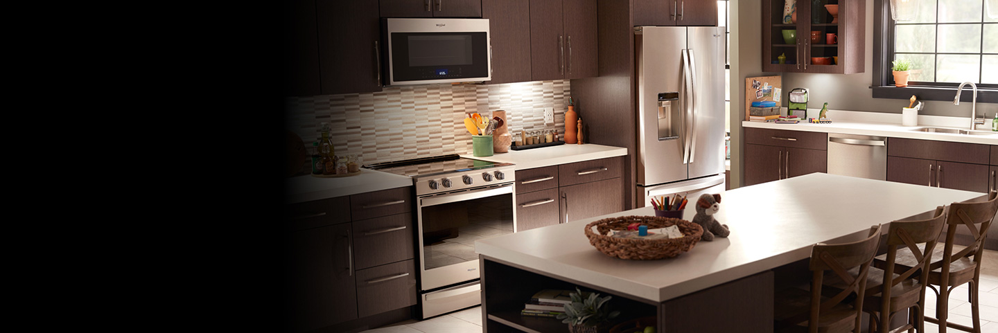Find the right kitchen appliances for your home at Whirlpool.