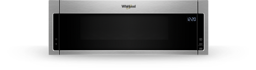 Stainless Steel 1 1 Cu Ft Low Profile Microwave Hood Combination