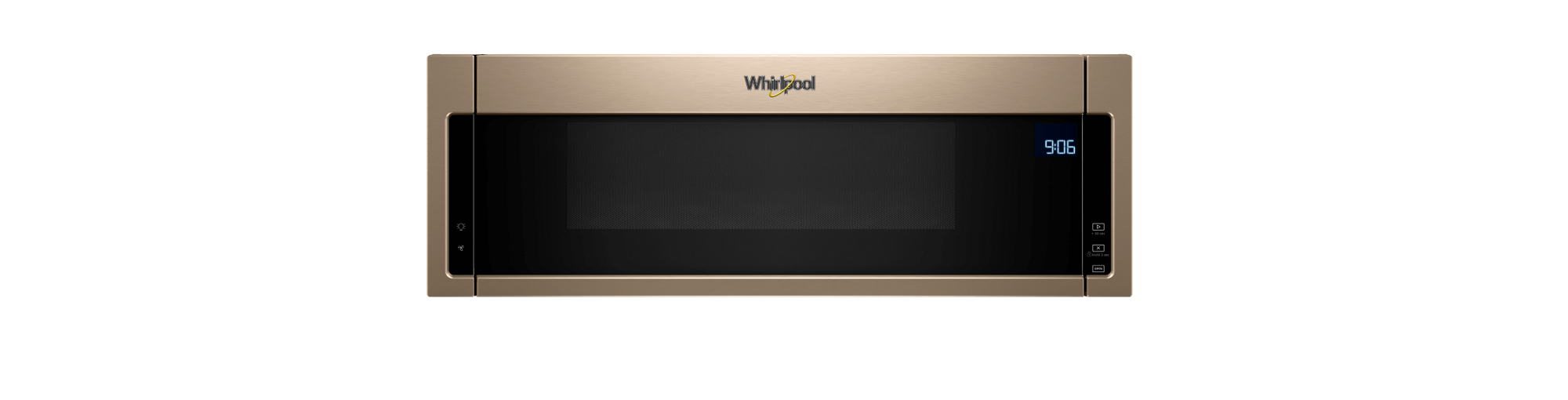 Microwave ovens from Whirlpool.