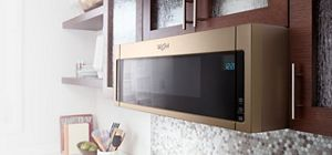 Low Profile Microwaves With Under Cabinet Mounting From Whirlpool.