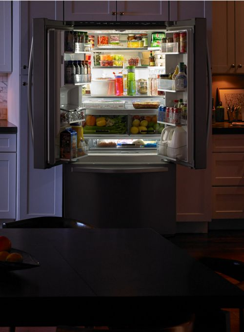 Keep food fresher longer with Whirlpool home refrigeration.
