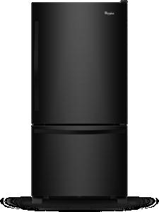 Réfrigérateur à congélateur inférieur, 30 po, 19 pi3.